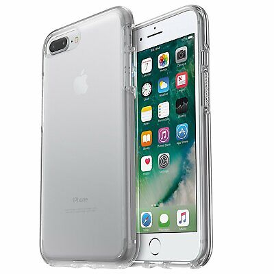 AU17.67 • Buy OtterBox Symmetry Series Case For IPhone 8 Plus & 7 Plus - Clear - Easy Open Box