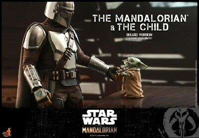 $ CDN0.99 • Buy Hot Toys 1:6 TMS015 Star Wars The Mandalorian & The Child Deluxe Version Set Toy