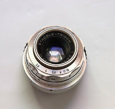 $137.94 • Buy RARE! Staeble-Trigon 50mm F2.8 Leica M39 Mount Lens Made In Germany