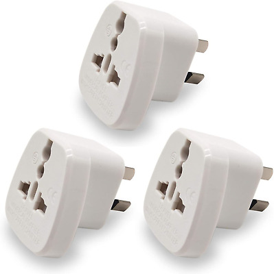 AU21.41 • Buy Travel Adapter For Australia/New Zealand With Safety Shutter And Insulated Pins,