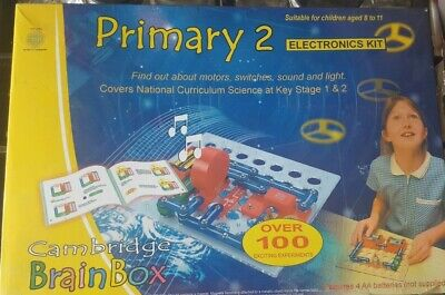 £14.99 • Buy Cambridge Primary 2 Introduction To Electronics Kit Science Experiments 100+ EXP