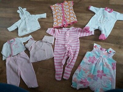 AU5.42 • Buy Pretty Small Bundle Of Baby Girls Clothes 👧  0/3 Months.