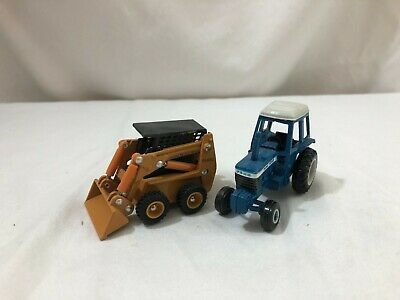 AU12.81 • Buy LOT OF ERTL Construction Farm Equipment Case Front End Loader  Ford Tractor 1/64