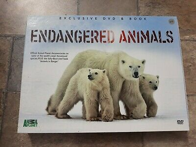 £5 • Buy Animal Planet Endangered Animals Book And DVD Set