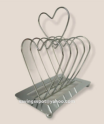 £6.75 • Buy Breakfast In Bed Heart Toast Rack Valentines Day Gift Kitchen BN Sealed