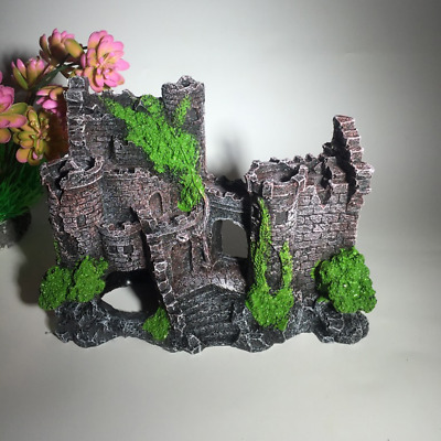 $ CDN23.84 • Buy Landscaping  Fish Tank Resin Castle Decoration Cave Ornaments Tree Decorations