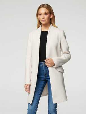 AU65 • Buy $ale - FOREVER NEW Alison Cocoon Coat - DI$COUNT PRICE