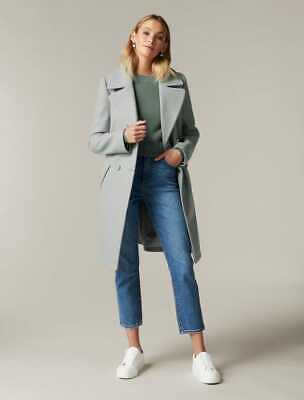 AU60 • Buy $ale - FOREVER NEW Helen Boxy Coat Soft Green - DI$COUNT PRICE