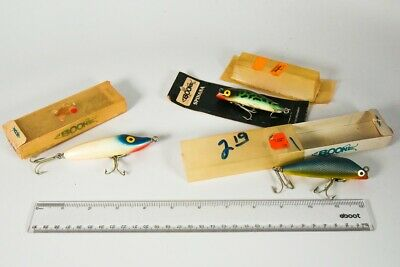 $ CDN1.20 • Buy Vintage Florida Boone Antique Fishing Lure Lot Of 3 LC13