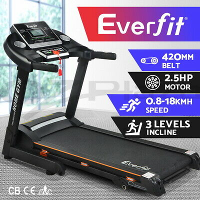 AU699.95 • Buy Everfit Treadmill Electric Home Gym Exercise Machine Fitness Equipment