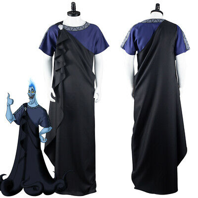 $ CDN60.65 • Buy Hercules Hades Cosplay Costume Halloween Outfit Suit Full Set
