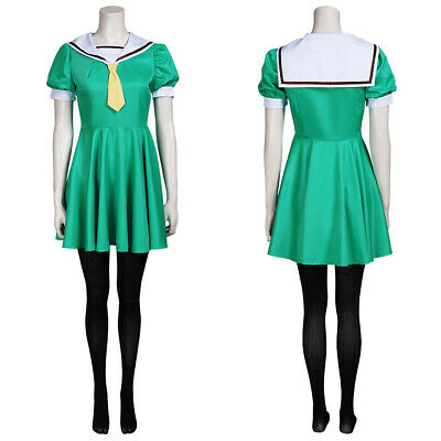 $ CDN47.31 • Buy When They Cry Hojo Satoko  Higurashi  Cosplay Costume Outfits Halloween Suit