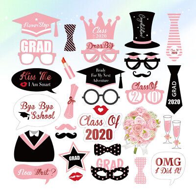 £7.97 • Buy 27pcs In 1 Set Photo Props Photo Shooting Glasses Prom Party Props For Decor