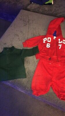 £13 • Buy Baby Ralph Lauren 3 Month Tracksuit N Jumper
