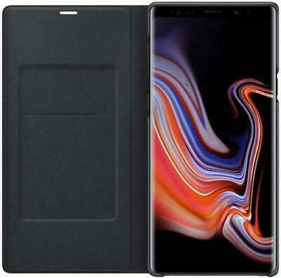 $ CDN39.17 • Buy Official Samsung Note 9 Led View Wallet Case Cover Black Genuine Flip New