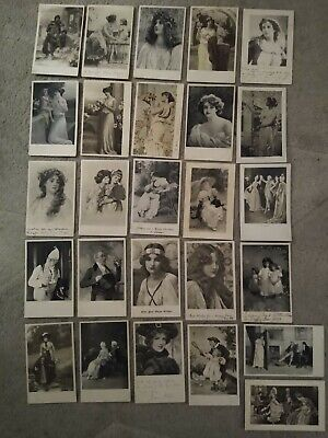 £10.49 • Buy 26no. C W Faulkner Postcards All People Related Early 1900s Posted & Unposted
