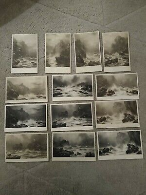£4.99 • Buy 13no. C W Faulkner Postcards Stormy Seas Early 1900s Posted & Unposted