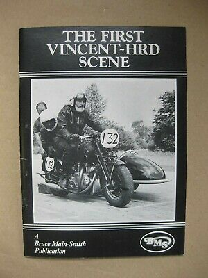 £12.99 • Buy  The First Vincent ~ HRD Scene  ~ BMS Booklet ~ Motorcycling ~ Many Photographs