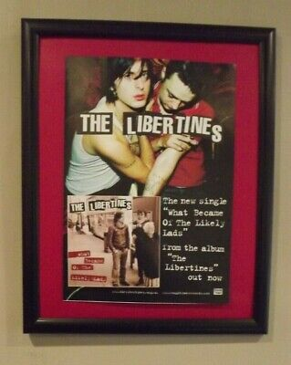 £4.99 • Buy The Libertines-What Became Of The Likely Lads Original UK Press Advert 2004