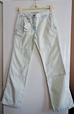 £9.99 • Buy Ladies Women Lovely Designer Murphy&nye Bleached Jeans Trousers Size 10 New
