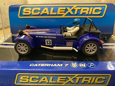 £69.95 • Buy Scalextric Caterham 7 Limited Edition UKSF C3437 1/32 Scale Slot Car