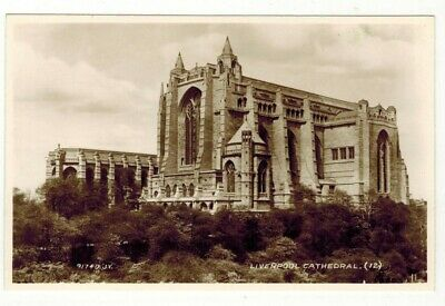 £1.50 • Buy Liverpool Cathedral (12) Valentines 91740 R P Postcard