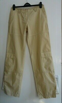 £9.99 • Buy Ladies Women Lovely Murphy & Nye Spring Summer Beige Cargo Trousers Size 10 New