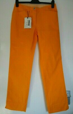 £9.99 • Buy Ladies Women Lovely Murphy & Nye Spring Summer Cotton Trousers Size 10 New