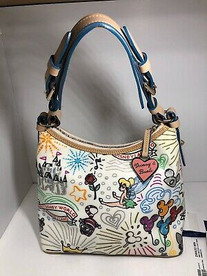 $399.99 • Buy Disney Parks Dooney & Burke Retired Sketch Lucy Bag 100% Authentic Free Ship