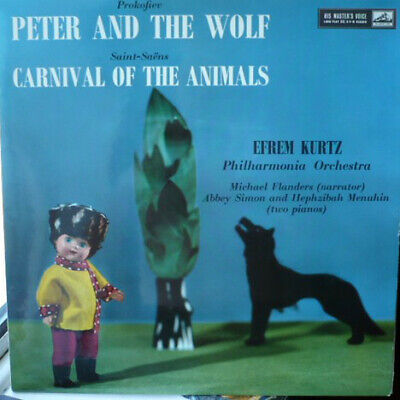 £24.59 • Buy Sergei Prokofiev Peter And The Wolf / Carnival Of The Animals Vinyl LP ID7512z