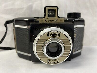 $ CDN17.03 • Buy Coronet 6x6 120 Film Camera With Case - Made In England