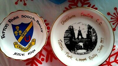 £3.99 • Buy 2 Collector China Plates. Tatton Park.3000th Rally, July,1991 & 4000th,July1997.