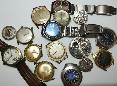 $ CDN44.04 • Buy Vintage Lot, Collector's Watch, To Restore Or Parts
