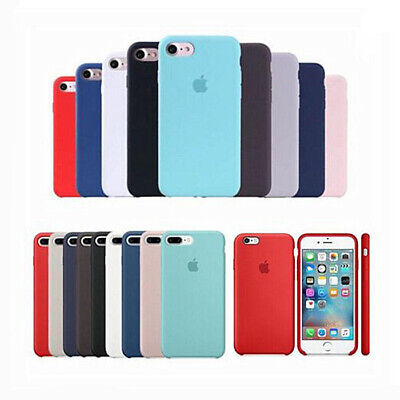 AU15.02 • Buy Original Genuine Hard Silicone Phone Cover Case For Apple IPhone X XR XS Max 8 7