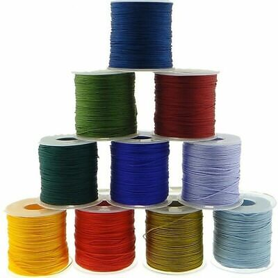 £4.37 • Buy 0.8mm 1mm 1.5mm 2mm Cotton Cord Nylon Thread Chinese Knot Plastic String Rope