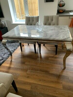 £325 • Buy Stunning Marble Top Dining Table