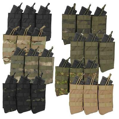 £11.49 • Buy Fields Airsoft Triple Open Top QR AK Molle Magazine Pouch 6mm Bb's Army Style