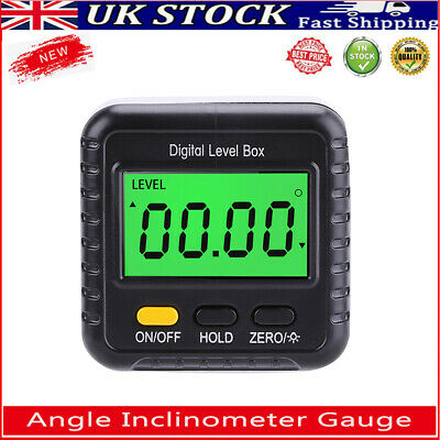 £11.73 • Buy Digital Angle Inclinometer Gauge Protractor Accurate Measuring Finder Magnetic