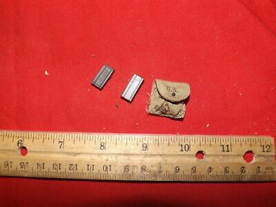 $4.11 • Buy 1/6 Scale Dragon WWII US M1 Carbine Clips & Pouch