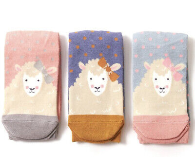 £5.50 • Buy Miss Sparrow Ladies Bamboo Socks Sheep In Duck Egg Novelty One Size 4-7