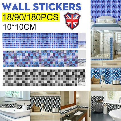 £5.59 • Buy 30X Kitchen Tile Stickers Bathroom Decal Sticker Self-adhesive Wall Home Decor