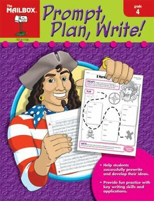 $4.09 • Buy Prompt, Plan, And Write : Grade 4 By The Mailbox Books Staff