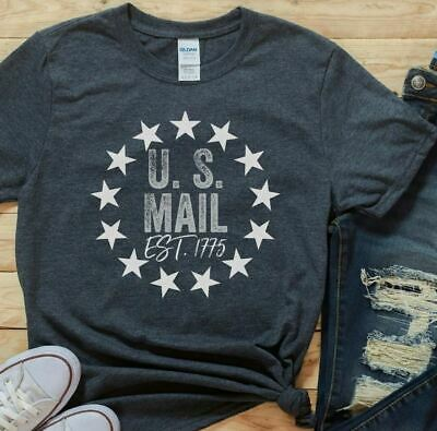 $13.99 • Buy U.S. Mail Shirt Cute Mail Carrier T-Shirt United States Postal Worker Shirt Tee