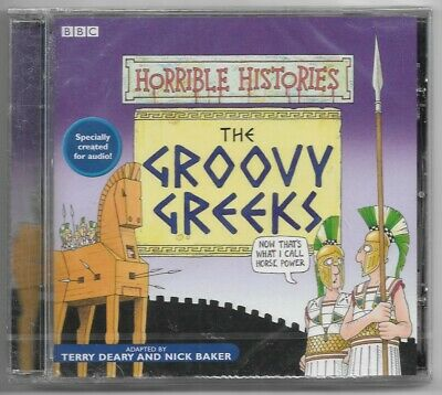 £8.48 • Buy BBC HORRIBLE HISTORIES THE GROOVY GREEKS CD Audiobook NEW & SEALED