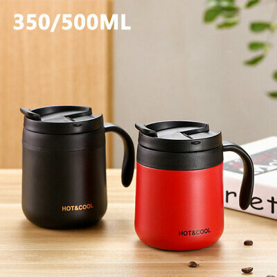 AU18.25 • Buy 350/500ML Coffee Cup Vacuum Stainless Steel Insulated Insulation Travel Mug