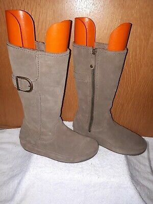 £35 • Buy FITFLOP Ladies Boots Grey High Knee In Excellent Condition Size 5
