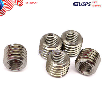 $12.79 • Buy Thread Adapters For M12 12mm Male To M8 8mm Female Threaded Reducers