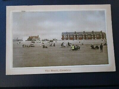 £2.99 • Buy Postcard Of The Beach, Cleveleys (Posted 1912)