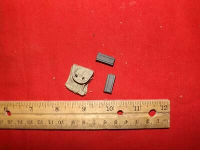 $4.61 • Buy 1/6 Scale Dragon WWII US M1 Carbine Clips & Pouch #507