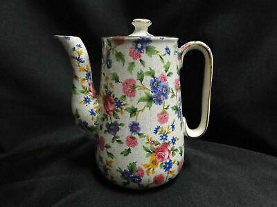 $ CDN251.76 • Buy Royal Winton Old Cottage Chintz: Countess Coffee Pot & Lid, 5 3/8 , 1.5 Cups